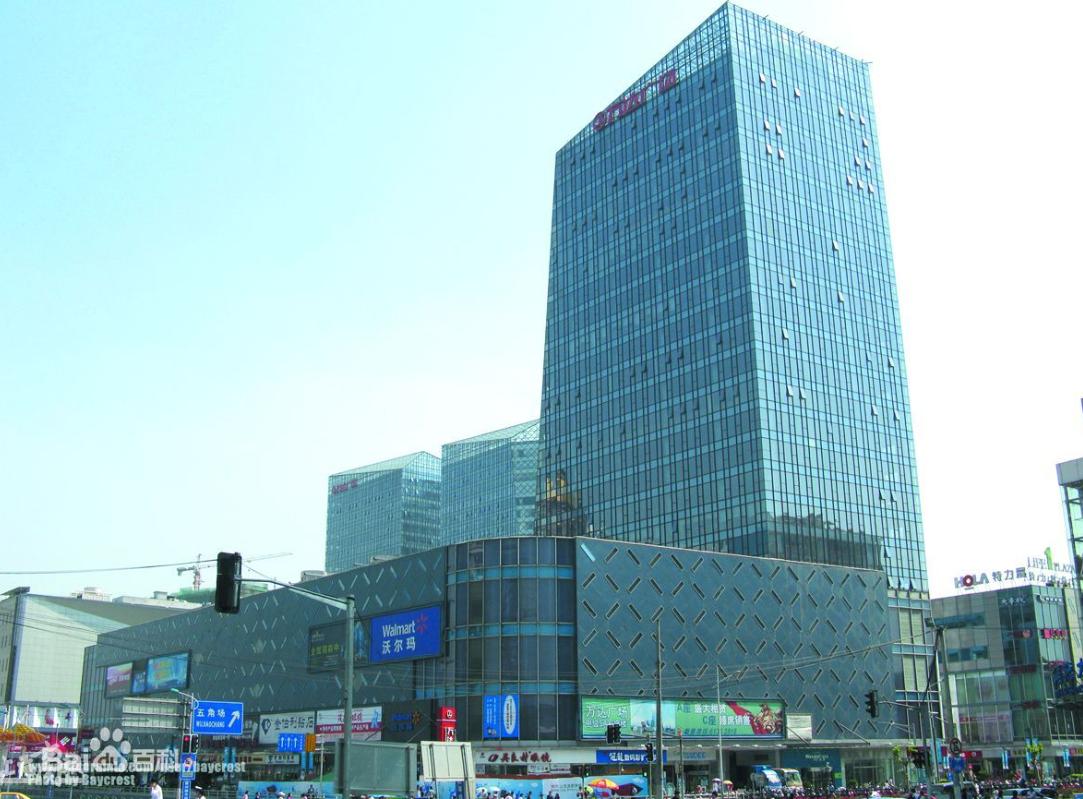 上海五角万达广场商业楼宇无线对讲系统解决方案