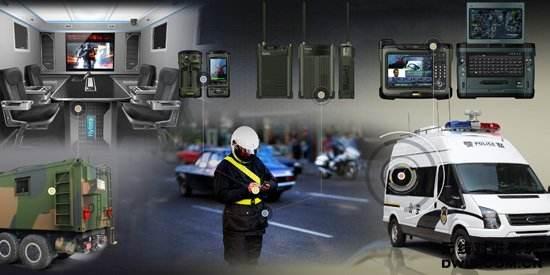 警用数字集群(PDT)350兆无线对讲系统